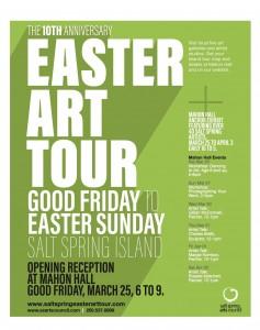 Easter Art Tour Poster 2016