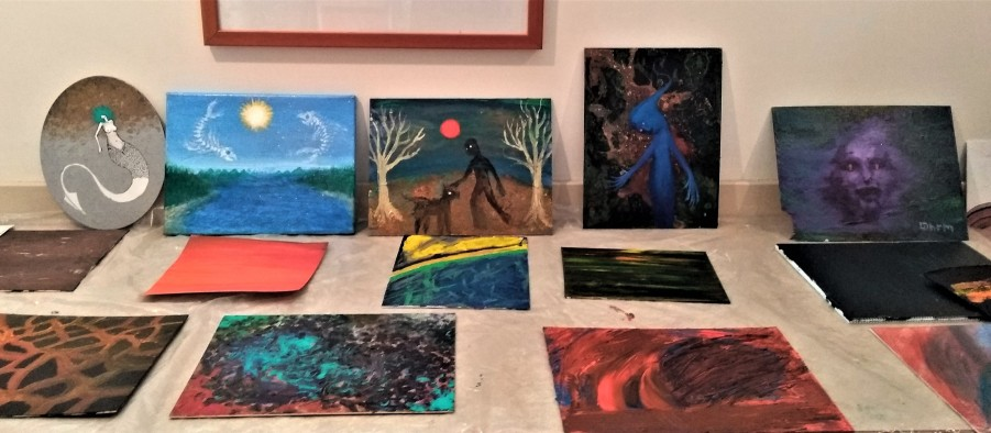 artists from the fringe exhibit salt spring arts council